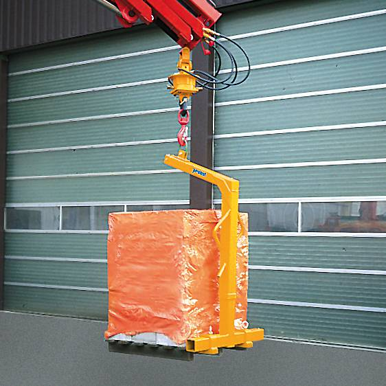 Horquillas para palés PGH-K con cadena de sujeción de carga